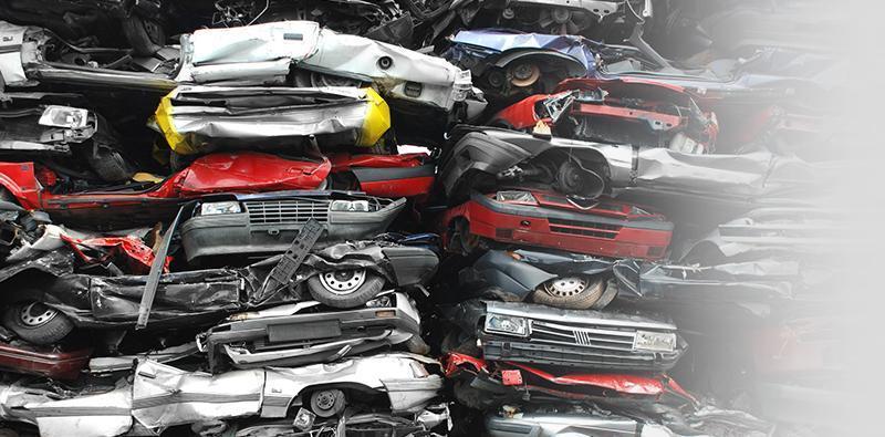 Zniszczone auta